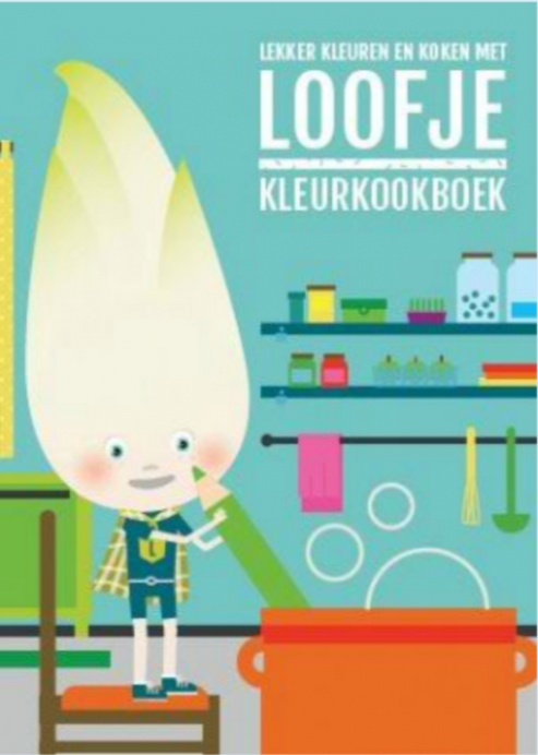 Kleurkookboek - Witloof - 1
